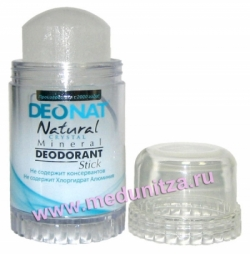 Дезодорант кристалл ДЕОНАТ 80 гр.