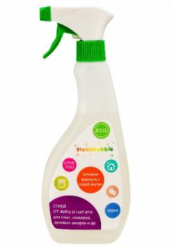 Универсальный спрей для кухни, от жира и нагара ТМ FreshBubble
