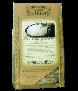 Соль озера Баскунчак