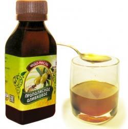 Оливковое масло с прополисом