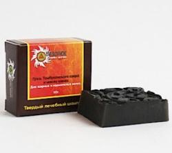 Твердый лечебный шампунь ГрязьТамбуканского озера и Масло какао